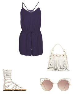 """""""Untitled #175"""" by jazzy-jazzz on Polyvore featuring New Look, Yves Saint Laurent and MANGO"""