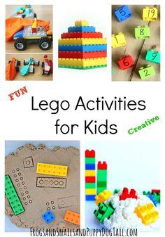 Fun Lego Activities for Kids - FSPDT