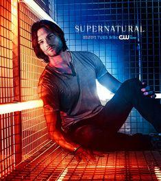 Supernatural Season 9- Sam Winchester single promo shot- via Supernatural Facebook page
