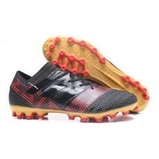 Purchase Adidas Nemeziz 17 360 Agility AG Soccer Cleats - Core Black/Core Black/Solar Red from Adidas Nemeziz 17 360 Agility FG Adidas Football, Football Shoes, Football Cleats, Soccer Shoes, Messi, Cheap Soccer Cleats, Adidas Nemeziz, Nike Magista Obra, Football Accessories