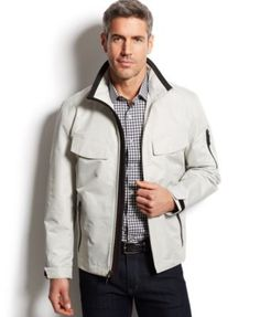 London Fog Newsfields Ripstop Hipster Jacket