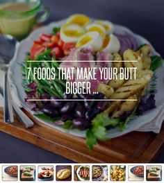 7 #Foods That Make Your Butt Bigger ... → Food #Calories