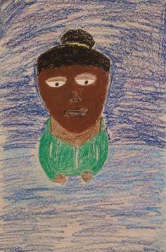 """""""Untitled"""" by Tameka Edwards from the Eckert Intermediate School art program. #ArtColony #HouArtFest"""