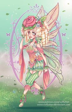 Spring Fairy By NoFlutter.