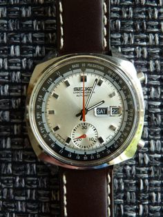 Seiko - Pulsations 1971, 6139 movement