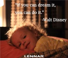 A great inspirational quote about dreams!