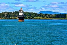 Maine Lighthouses and Beyond: Goose Rocks Lighthouse.  To enjoy my site on lighthouses click on the above photo.