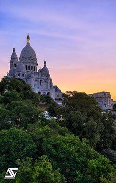 Sacré-cœur, Montmartre, Paris.