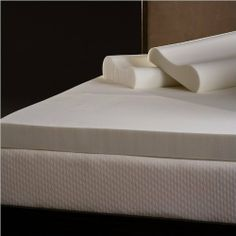 Comfort Magic 4-inch Memory Foam Mattress Topper with Contour Pillows - California King by Comfort Magic. $151.95. Sleeping on a traditional spring mattress creates pressure points that become the source of discomfort, causing tossing and turning. Memory Foam has a gel-like feel that is temperature sensitive to soften the mattress with the warmth of your body. It recognizes shape and pressure points and adjusts to distribute body weight evenly. Features: 4-inch thick...