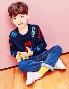 Cute Baby Boy, Baby Boys, Cute Boys, Most Beautiful Child, Beautiful Children, Cute Asian Babies, Cute Babies, Boy Fashion, Korean Fashion