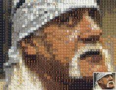 #mosaics #mosaicart #mosaicportrait #digitalmosaic #digitalmosaicportraits #mosaic #mosaichulkhogan