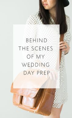 For photographers - 7 things I do to get ready to shoot a wedding