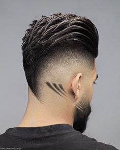 Mens Hairstyles With Beard, Cool Hairstyles For Men, Undercut Hairstyles, Hair And Beard Styles, Haircuts For Men, Hair Styles, Barber Haircuts, Ladies Hairstyles, American Hairstyles