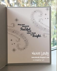 Canopy Crafts: Star of Light for a Paper Players Sketch Christmas Cards 2018, Homemade Christmas Cards, Stampin Up Christmas, Xmas Cards, Christmas Greetings, Homemade Cards, Handmade Christmas, Holiday Cards, Christmas Vacation