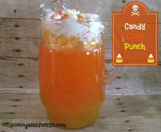 Candy Corn Punch One of my very favorite candies is Candy Corn!  Of course I wanted to recreate this sweet Halloween delicacy with this adorable punch.  Finding sweet ways to remind my boys how much we love Halloween are absolutely priceless.    Couponing as a Lifestyle receives free products for review purposes, and may sometimes...  Read more »