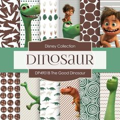 The Good Dinosaur Digital Paper DP4901B