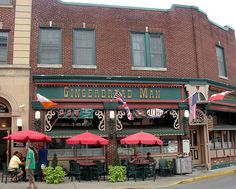 Gingerbread Man in Carlisle, PA- going there next time I'm in Carlisle Oh The Places You'll Go, Great Places, Places Ive Been, Fall Vacations, Dream Vacations, Carlisle Pennsylvania, Amazing Places, Beautiful Places, Dickinson College