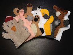 Farm Animal Puppets - Tutorial with patterns