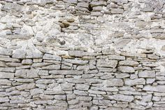 Old Stone Wall - Fotobehang