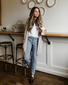 Casual style in the Sloan work pant #TTD #styleblogger