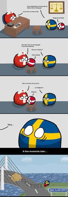 In Sweden, we hate danish people.. - 9GAG