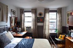 Taylor and Wes' East Village Eclectic Country Home Exteriors, World Of Interiors, East Village, Small Apartments, Small Spaces, House Colors, That Way, Home Interior Design, Home Remodeling