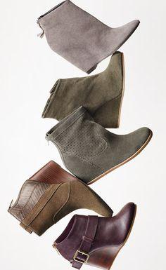 Fall favorites: Wedge booties