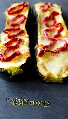 Vegetarian Baked Zucchini @Zerrin | GiveRecipe