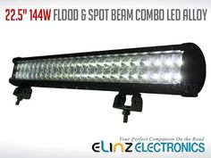 Elinz LED light bar have an waterproof rating making it durable and well protected againts water or any other forms of liquids. This light bar have. Bar Lighting, Track Lighting, Led Light Bars, Beams, Ceiling Lights, Water, Youtube, Gripe Water, Outdoor Ceiling Lights