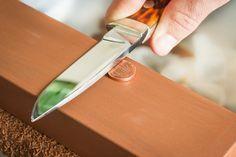 Uma faca afiada é uma faca útil