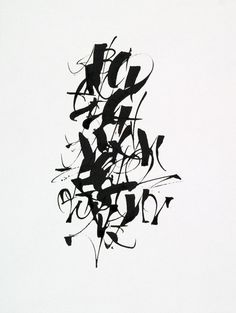 #Lettering #MichaelZeyda #Ink