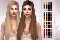 SIMS4- Anto Noah retexture • 44 colors(naturals and some unnaturals) • Custom Thumbnail • You have to download the mesh *here* •  @aveirasims for the texture, color actions by me If you like the retexture and you want to suggest one, send me a...