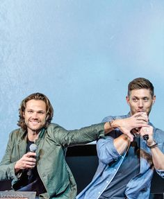 "lipglosskaz: "" Accurate representation of J2's personalities 59/? (orig pic cred  @kreespa) """