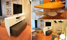 decoração apartamentos pequenos