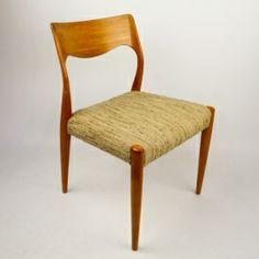 Set van 4 Niels Moller stoelen