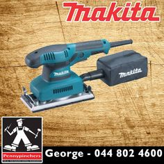Become the Makita Specialist, with these wonderful deals, such as Makita 190 Watt Orbital Sander B03710 only R795! Available from Pennypinchers George #makita #specials #gardenroute