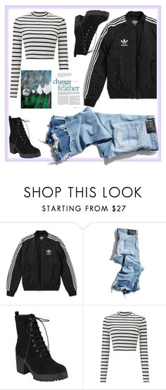 """""""Bez naslova #127"""" by alma202 ❤ liked on Polyvore featuring adidas, R13 and Miss Selfridge"""