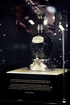 """For whisky connoisseurs - Royal Salute """"Tribute to Honour"""" encrusted with over 400 black & white diamonds valued at US $200,000 5th September, Grand Hyatt, White Diamonds, Whisky, Seoul, Black And White, History, Luxury, Blanco Y Negro"""