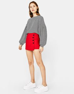 0c22d4c3e Discover the latest trends in Shorts with Bershka. Log in now and find 77  Shorts and new products every week