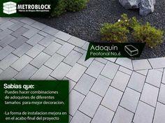La perfecta instalación de los #adoquines en cemento hacen de la #construccion una edificación perfecta.