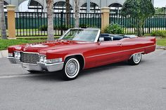 Do you remember the red '69 or so Caddy with the locked door?