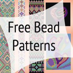 Loom beading patterns mirrix tapestry and bead looms portable metal weaving looms by cara Loom Bracelet Patterns, Bead Loom Bracelets, Bead Loom Patterns, Beaded Jewelry Patterns, Weaving Patterns, Bead Jewelry, Jewelry Making, Jewlery, Knitting Patterns