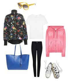 """""""Untitled #619"""" by raluca-denisat on Polyvore featuring Moncler, Giorgio Armani and Yves Saint Laurent"""