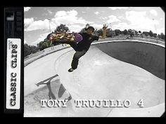 Tony Trujillo Skateboarding Classic Clips #223 Part 4 - http://DAILYSKATETUBE.COM/tony-trujillo-skateboarding-classic-clips-223-part-4/ - This dude rips the most insanely hard spots to skate! Enjoy more TNT Tony Trujillo! For more Skateboarding Classic Clips EVERY THURSDAY please subscribe:http://www.youtube.com/user/Skateintheday Subscribe here:http://www.youtube.com/subscription_center?add_user=skateintheday Follow Classic Clips - #223, classic, clips, part, skateboarding,