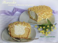 Plumcake mimosa al limone con panna
