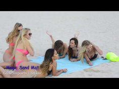 Sand Free Mat - Пляжная подстилка анти-песок