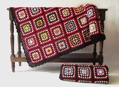 Extra Large Crochet Blanket 220 cm x 30 cm 87 x 59 by duduhandmade, $200.00