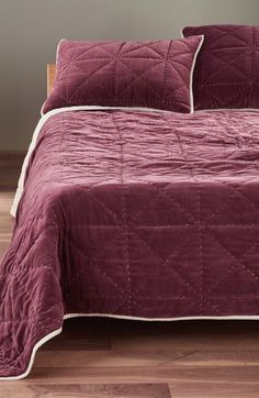 was $249.00 $87.15 65% off  Nordstrom at Home 'Davie' Velvet Comforter