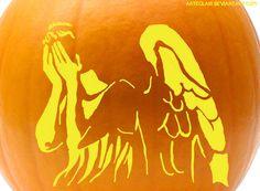 pumpkin carving | Tumblr ~ those dang creepy weeping angels