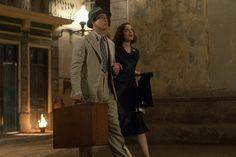 Photo of Marion Cotillard and Brad Pitt in the film Allied (2016) (45)